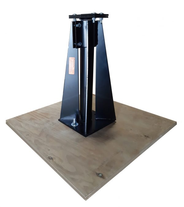 19 CP Seismic Pier on Plywood F