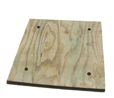 CP Anchor Pier Plywood Pad