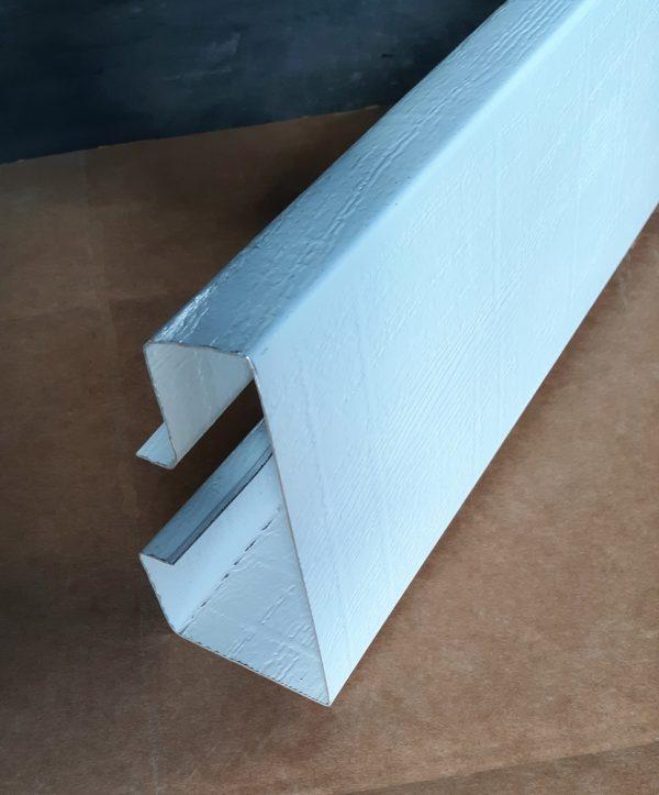 Roll Formed Gutter Header F