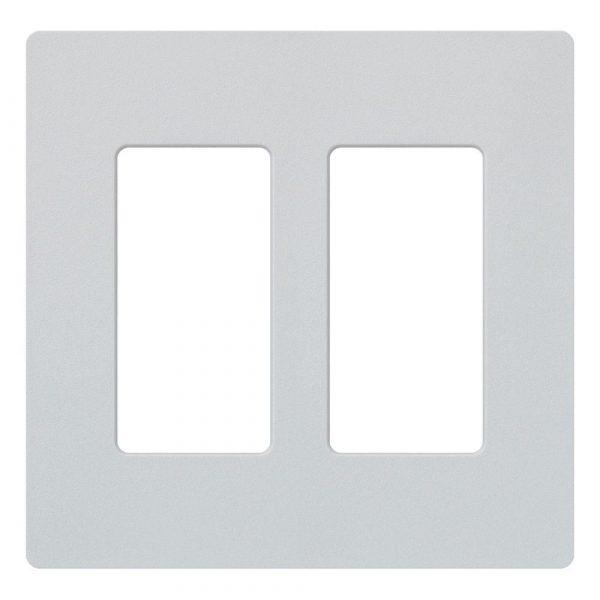 Wall Plate 2-Gang White