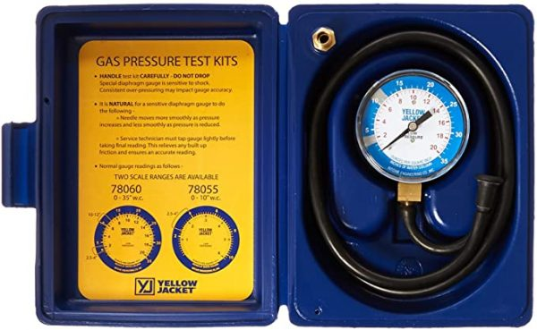 Low Pressure Gas Test Gauge