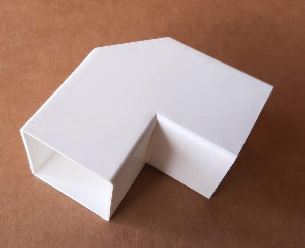 Plastic Elbow 90 Degree White
